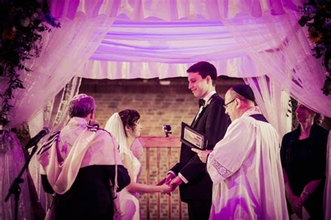 Interfaith Jewish Christian Wedding At