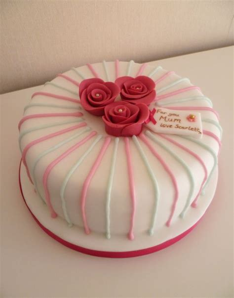 Birthday cake for mom special cakes relation. Pin by Jen on holidays   Easy cake decorating, Mother birthday cake, Mothers day cake