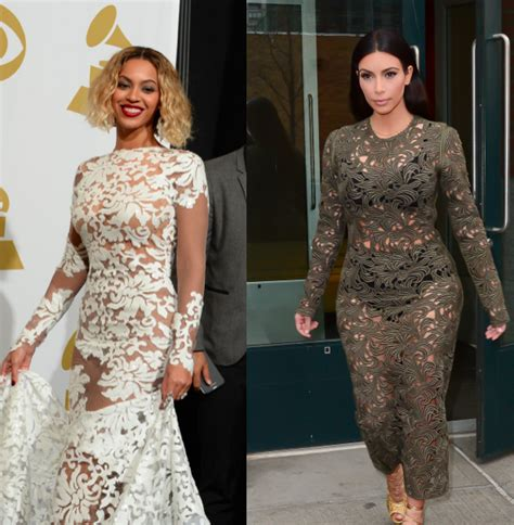 Kim Kardashian Steals Beyonce S See Through Style Who