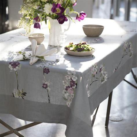 designer tablecloths gray linen elegant tablecloth