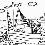Coloring Boat Boats Printable Cartoon Drawing Simple Cool2bkids Tugboat Bass Getdrawings Getcolorings Motor Bo sketch template