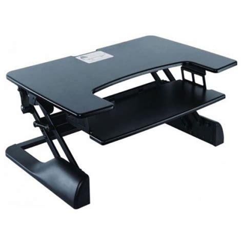 poste de travail assis debout meuble ordinateur g 233 n 233 rique sur ldlc