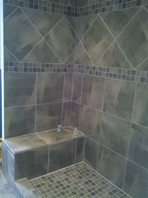 shower tub doors 40 gray shower tile ideas and pictures