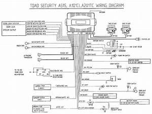 Autoalarm Toad 101cl I Schemat