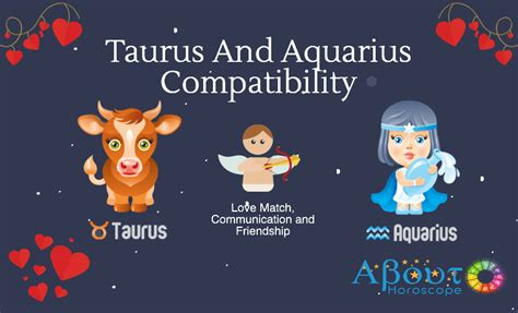 taurus  aquarius compatibility  love match