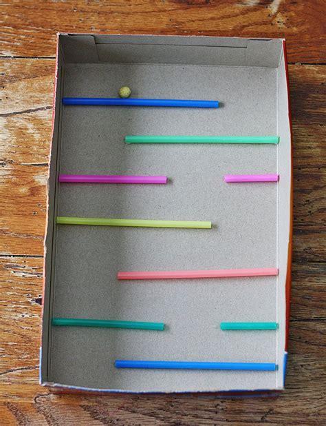 a simple cereal box maze is for a preschooler 836 | 96004a09abb195f62d0f432159fb8d2b