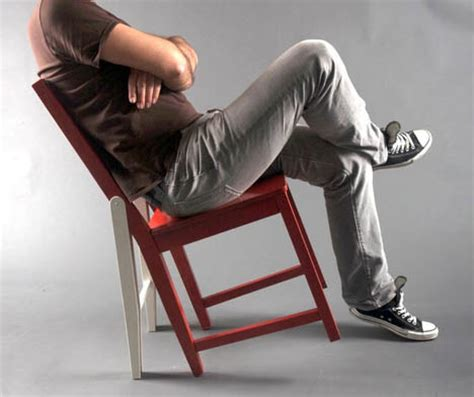 hacked ikea leaning seat idea imitates
