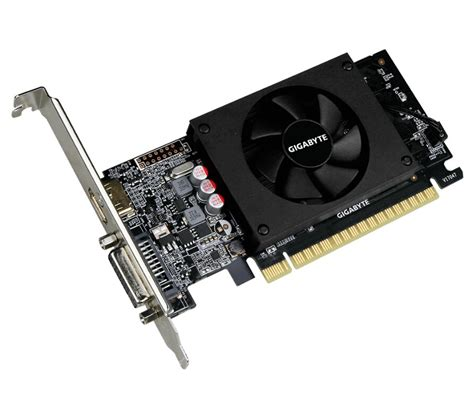 What is the best graphics card for 4k movies? Gigabyte nVidia Geforce GT 710 DDR5 2GB PCIe Video Card 4K 3x Displays HDMI Dual Link DVI Low ...