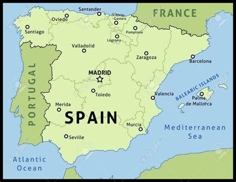 Carte D Espagne Avec Villes by Carte Espagne Grandes Villes My