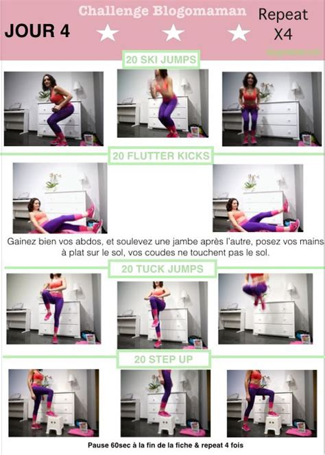 17 best images about programme fitness fille on squat challenge work motivation and