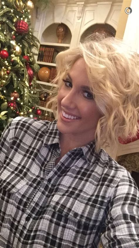 Savannah Chrisley Hair Hair Styles Short Hair Styles