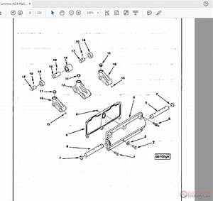 30 Cummins N14 Parts Diagram