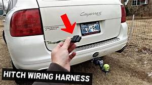 How To Install Trailer Hitch Wiring Harness On Porsche
