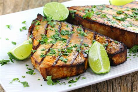 cilantro lime grilled swordfish
