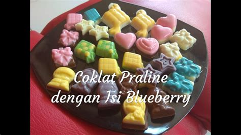 coklat praline resep coklat praline isi selai bluberry