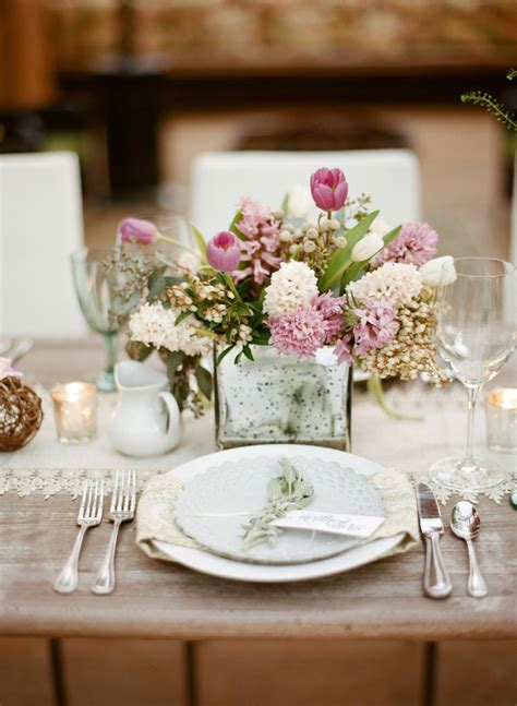 wedding table decorations rustic modern rustic herb inspired wedding ideas every last detail 1184