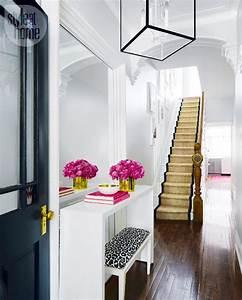 Black Front Door Entryway Entrance Hallway Ideas How To ...