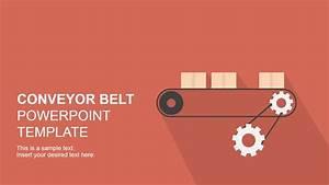 Flat Conveyor Belt Powerpoint Template