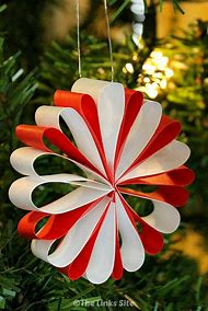 easy paper christmas decorations