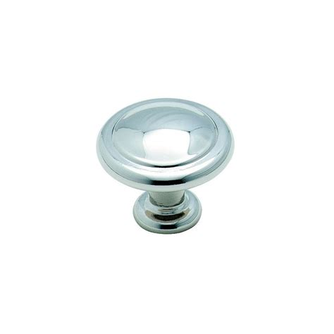 round chrome cabinet knobs shop amerock reflections polished chrome round cabinet