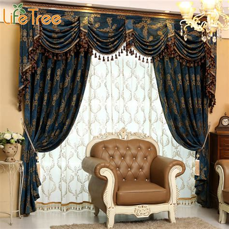 Custom Made Curtains And Drapes by Luxury Thick Curtains For Living Room Bedroom Blackout