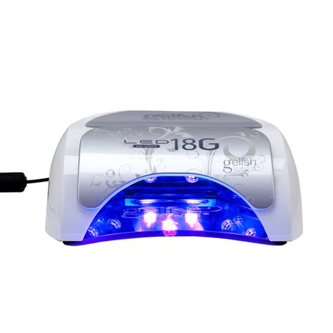 gel nail led light harmony gelish acrylic gel nail light 18g led l
