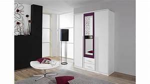 Kleiderschrank Weiß Lila : kleiderschrank krefeld wei und lila mit spiegel 136 cm ~ Indierocktalk.com Haus und Dekorationen
