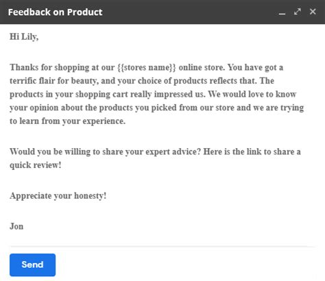 top email templates  requesting  review