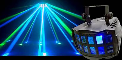 Led Double Disco Derby