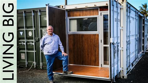 Boat Builder Shipping Container Home boat builder s 20 ft shipping container home the