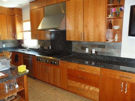 Charming Design Ideas Of Kitchen Slate Backsplash. Kitchen