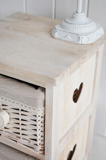 extra small bedside table  drawers cm  white