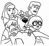 Scooby Doo Coloring Pages Colouring Printable Sheets Halloween Odd Dr Disney sketch template
