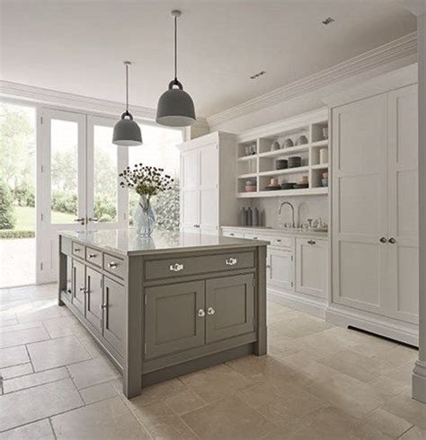 warm gray kitchen cabinets grey shaker kitchen in 2018 awesome kitchens 7001