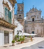Summer Morning In Martina Franca, Province Of Taranto ...