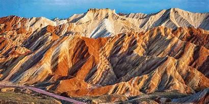 Places China Mountains Amazing Rainbow Visit Fun