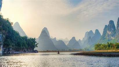 China Landscape Wallpapers Nature Guilin Lijiang River