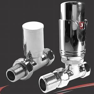 thermostatique droit robinet de radiateur seche serviettes With robinet thermostatique seche serviette