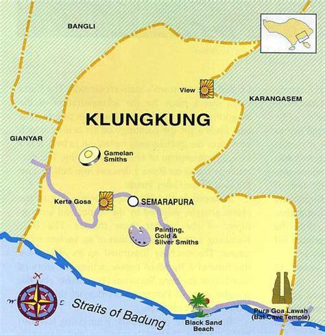 kd bali designs bali map klungkung district