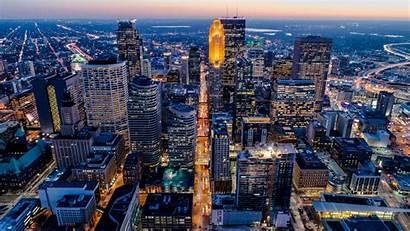 Minneapolis Minnesota Skyline Cities 4k Aerial Paul