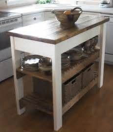 simple kitchen islands white kitchen island diy projects