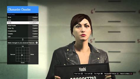 Female Character Creation #1 (gta Online) (ps4)