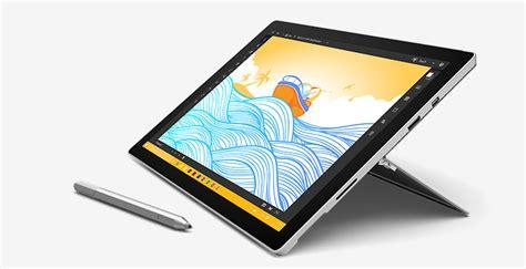 Microsoft Surface Pro 4 Core M3 / 4gb Ram 128gb + Type