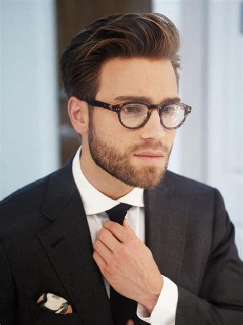 favorite haircuts  men  glasses find