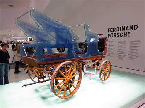 first porsche car porsche made its first electric car before first world war