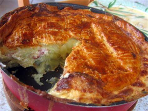 gateau pate feuilletee facile g 226 teau feuillet 233 de pommes de terre aux petits lardons la cuisine facile de tini