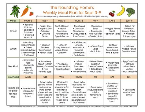 plan snack cuisine meal plan monday september 3 16 healthy recipes meals