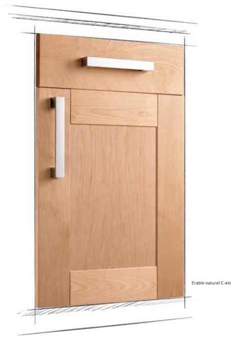 facade de porte de cuisine cuisine équipée ou sur mesure modèle schéma maison de