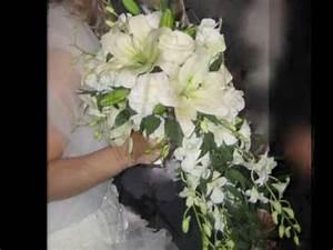 Bouquet Fleur Mariage : bouquets de mari es fleurs mariage youtube ~ Premium-room.com Idées de Décoration