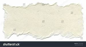 Texture Creamy White Rice Paper Torn Stock Photo 134165390 ...